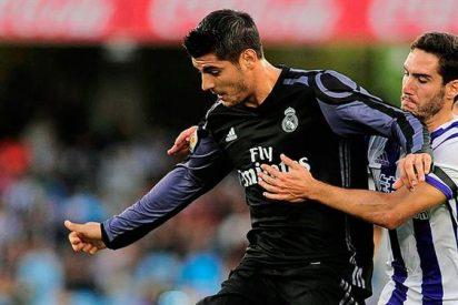 El jugador que se fue a por Morata tras el segundo gol del Madrid en Anoeta