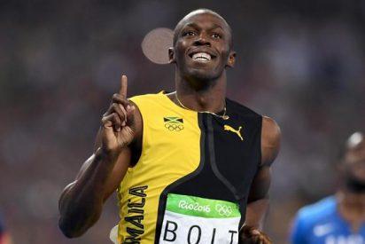 El mensaje de Usain Bolt a Cristiano Ronaldo tras ganar el oro en Río