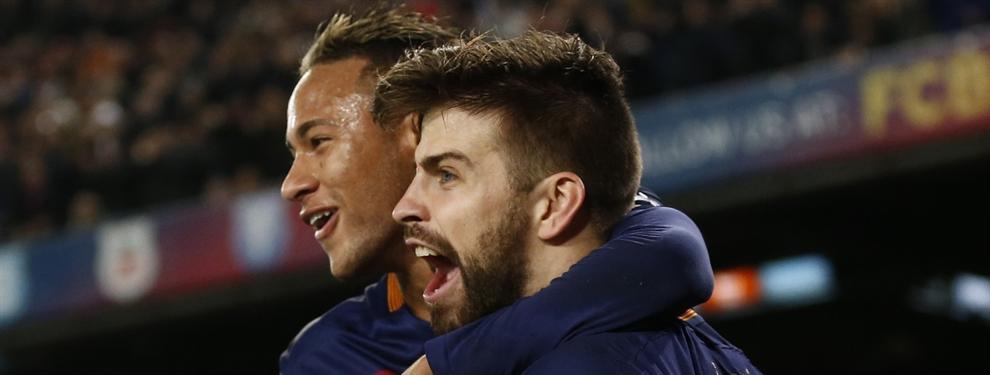 El papelón de Gerard Piqué con Neymar