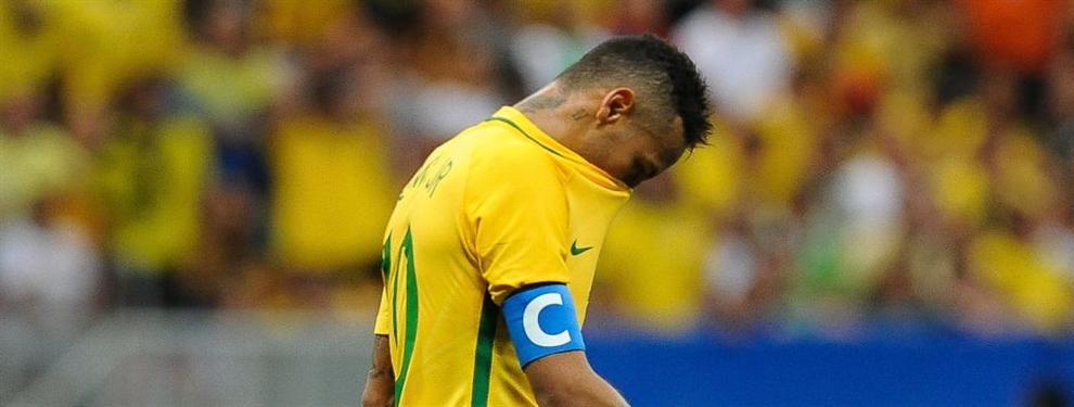 """En el FC Barcelona """"celebran"""" los fracasos de Neymar con la selección de Brasil"""