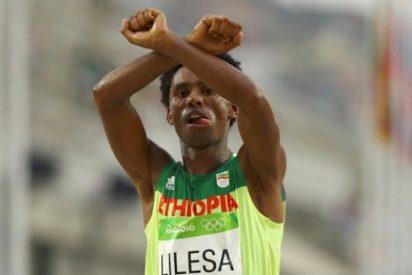 El mensaje desgarrador que ocultaba el gesto del etíope Feyisa Lilesa
