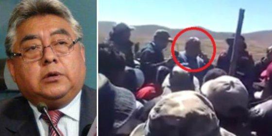 """[VÍDEO] El viceministro boliviano a punto de ser torturado hasta morir: """"¡Diez minutos, si no, carneado!"""""""