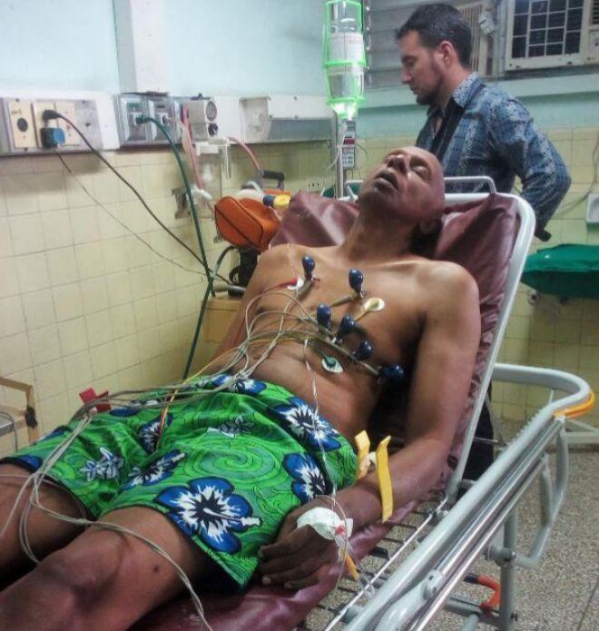 Representante del Vaticano visita al disidente cubano Fariñas, en huelga de hambre