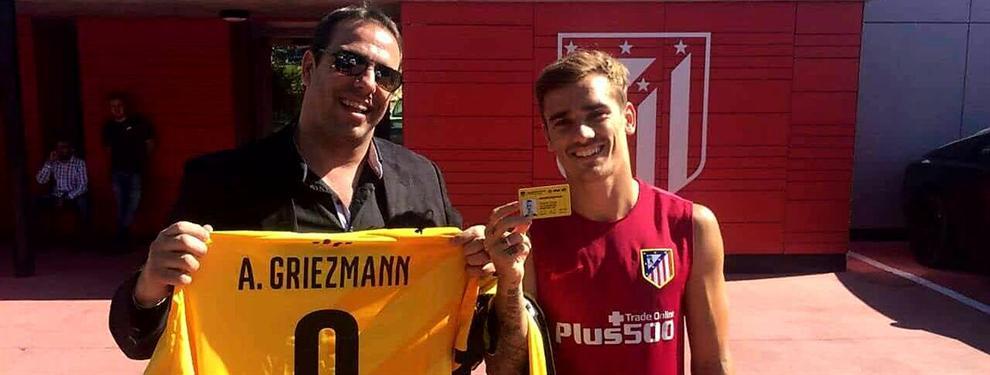 Fichaje estrella: Antoine Griezmann posó con la camiseta de su club