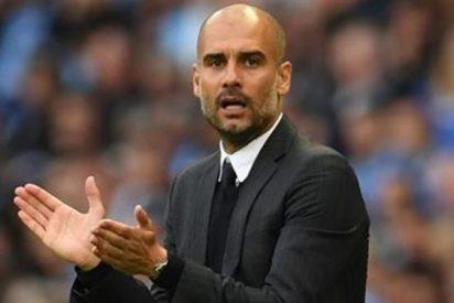 Guardiola pone de ejemplo a una figura del Barça en el vestuario del Manchester