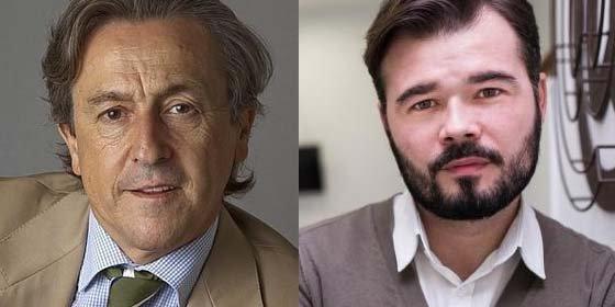 "Hermann Tertsch deja hecho unos zorros a Gabriel Rufián: ""A Kosovo o el Kurdistán te mandaba yo a que te dieran un repaso de libertades"""