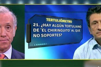 """¡Saltan chispas en 'El Chiringuito'! José Félix Díaz se sincera y dice que no traga a Eduardo Inda: """"Es una cuestión personal"""""""
