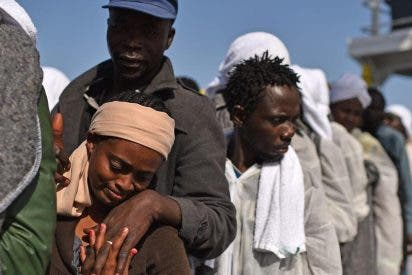 """""""Esta gente escapa de la guerra y de la violencia"""""""