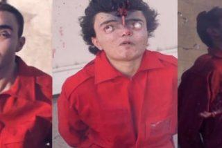ISIS: Así sacaban los ojos de las órbitas a unos grafiteros los malmirados fanáticos terroristas islámicos