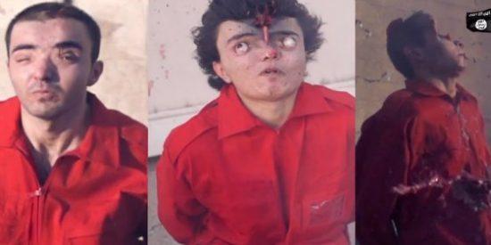 ISIS: Así sacaba los ojos de las órbitas a unos grafiteros los malmirado fanáticos terroristas islámicos