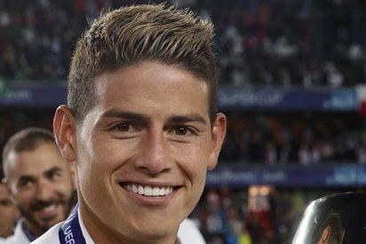 James Rodríguez puede terminar en la grada del Santiago Bernabéu