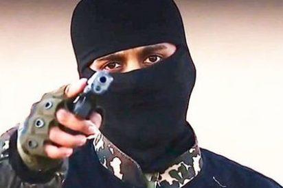 El Ejército Islamico hierve en un enorme caldero de alquitrán a seis desventurados