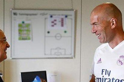 La conversación entre Zidane y Florentino que frenó los fichajes
