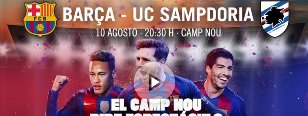 La mentira del Barça sobre Neymar para mejorar la taquilla del Gamper