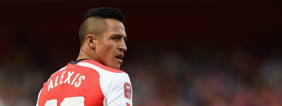 La pregunta que se hacen en el Arsenal: ¿Se quiere ir Alexis Sánchez al Madrid?