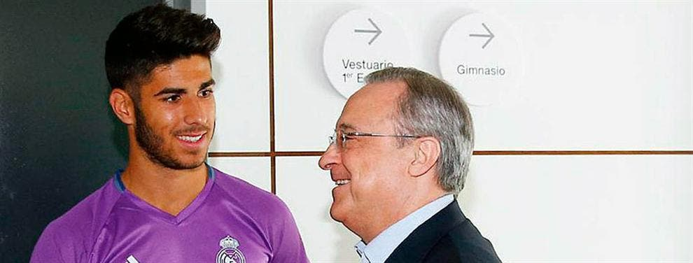 La profecía del padre de Marco Asensio a Florentino Pérez