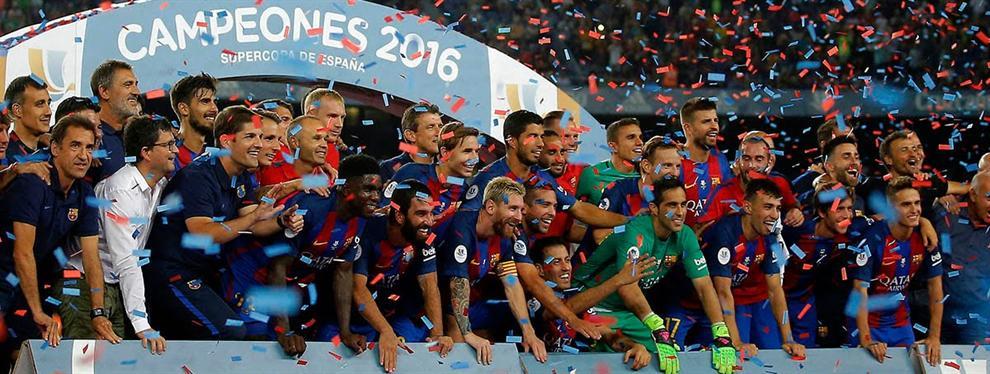 La victoria del Barça en la Supercopa deja un primer muerto en el vestuario