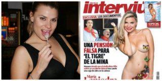 María Lapiedra se despelota en el Interviú más 'hot'