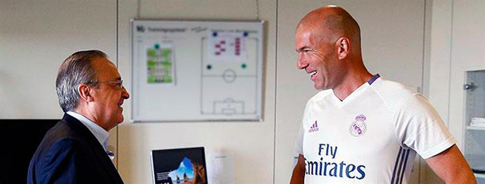 Las confidencias de Zidane a Florentino que apuntan a la plantilla del Madrid