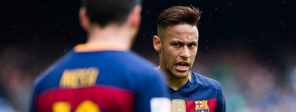 ¡Lío en el Barça! El fichaje del cuarto delantero enfrenta a Messi con Neymar