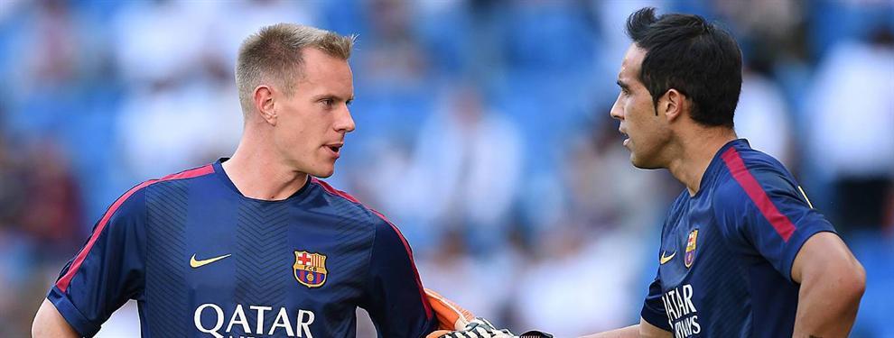 Los capos del Barça se movilizan para evitar la salida de Claudio Bravo