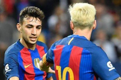 Luis Enrique aconseja a Munir ir cedido a la Real Sociedad con Eusebio