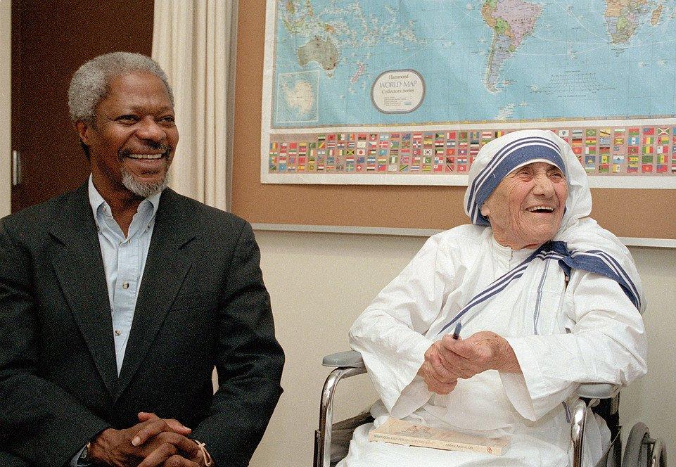 Retrospectiva sobre la Madre Teresa de Calcuta en la ONU