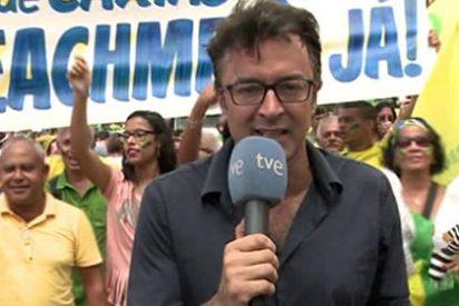 Marcos López (TVE) desenmascara la inseguridad en Río de Janeiro: