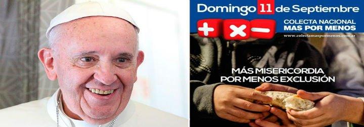 """El Papa pide a los argentinos que sean """"sensibles al grito de los necesitados"""""""