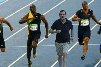 """Twitter estalla de risa: """"Bolt ganó el oro en Río...pero porque no mandamos a Mariano Rajoy"""""""