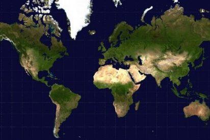 Todos los mapas planos del Planeta Tierra están mal