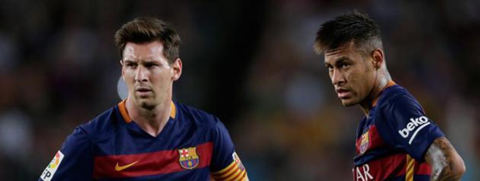 Messi le gana a Neymar la batalla por el fichaje del cuarto delantero
