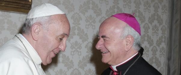 """Paglia: """"El Papa acelera la cercanía de la Iglesia a la humanidad herida"""""""
