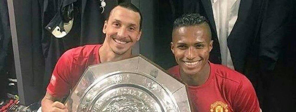Mou busca recuperar al mejor Antonio Valencia