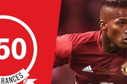 Mourinho le regala un récord (y una nueva vida) a Antonio Valencia