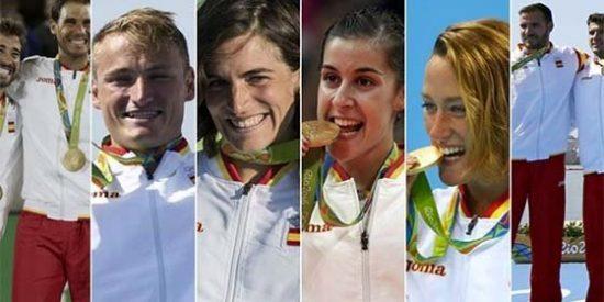 España ya suma su segundo mayor número de oros en unos Juegos tras los 13 de Barcelona
