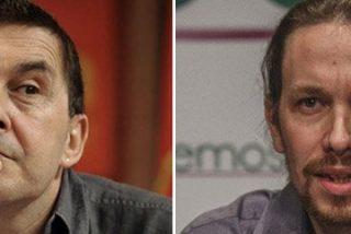 Otegi se lanza a morder a Pablo Iglesias porque Podemos le copia sus consignas