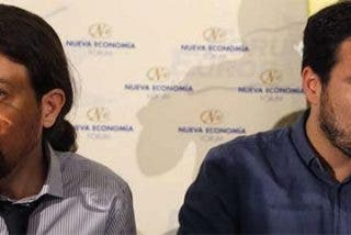 Pablo Iglesias y Alberto Garzón, de creerse los reyes del 'sorpasso' a acabar como tuiteros malcriados