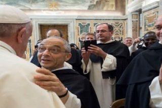 """El Papa a los dominicos: """"Es el cuerpo de Cristo vivo y sufriente, que grita al predicador y no lo deja tranquilo"""""""