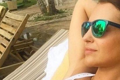 Paula Echevarría, otro año la que más 'lo peta' en la playa