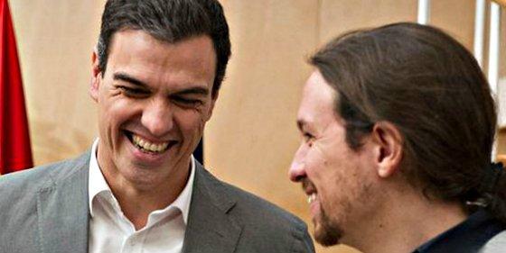 Iglesias y Sánchez ya chalanean a escondidas para montar un Gobierno alternativo al de Rajoy