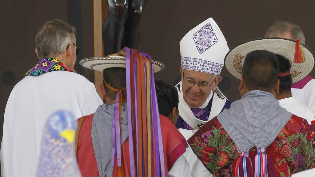 """Papa: """"Que sean respetados los pueblos indígenas"""""""