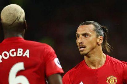 """Pogbahimovic"", la camiseta Red Devil que arrasa en Inglaterra"