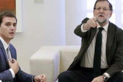 Rajoy y Rivera hablan a solas para dar un impulso a la negociación PP-Ciudadanos