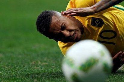 Neymar echa de menos el Barça y fracasa con Brasil como Messi con Argentina