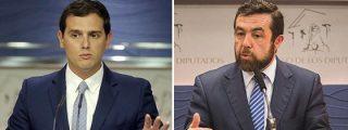 Las dos caras de Ciudadanos: el poli bueno Rivera y el poli malo Miguel Gutiérrez
