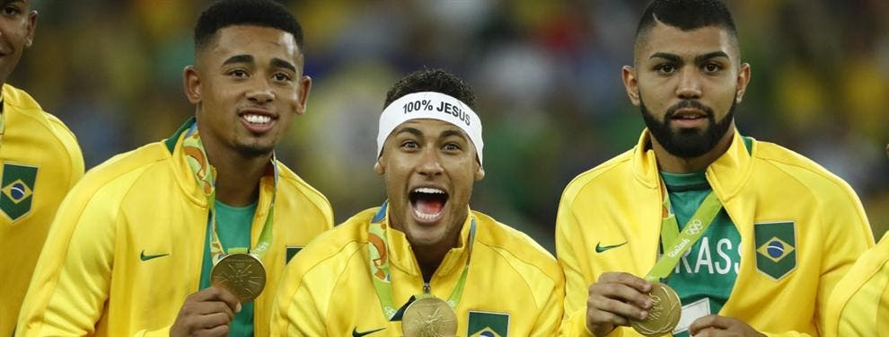 Salen a la luz polémicas imágenes de la celebración del oro de Neymar