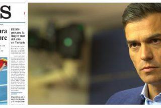 El País apunta que el bloqueo de Sánchez durará como mínimo hasta octubre de 2016