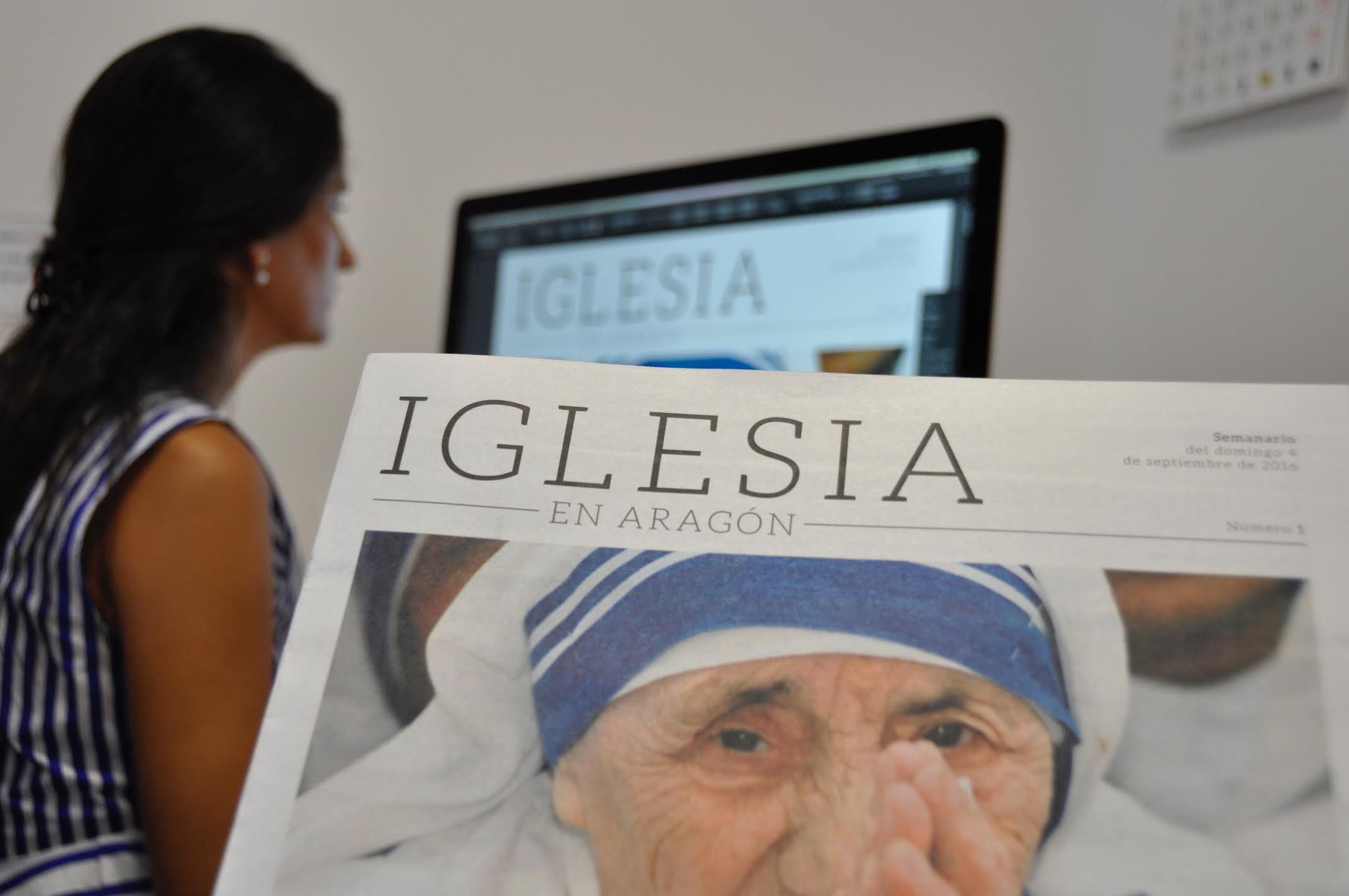 Nace 'Iglesia en Aragón', con una tirada de 40.000 ejemplares
