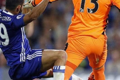¡Sigue igual! Inglaterra clama contra una nueva 'salvajada' de Diego Costa